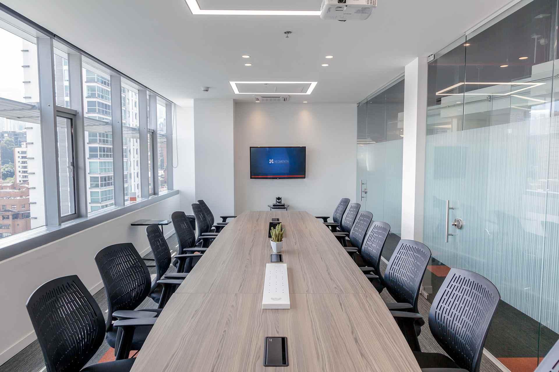 Imagen Sala de Videoconferencia y Telepresencia Xegmenta