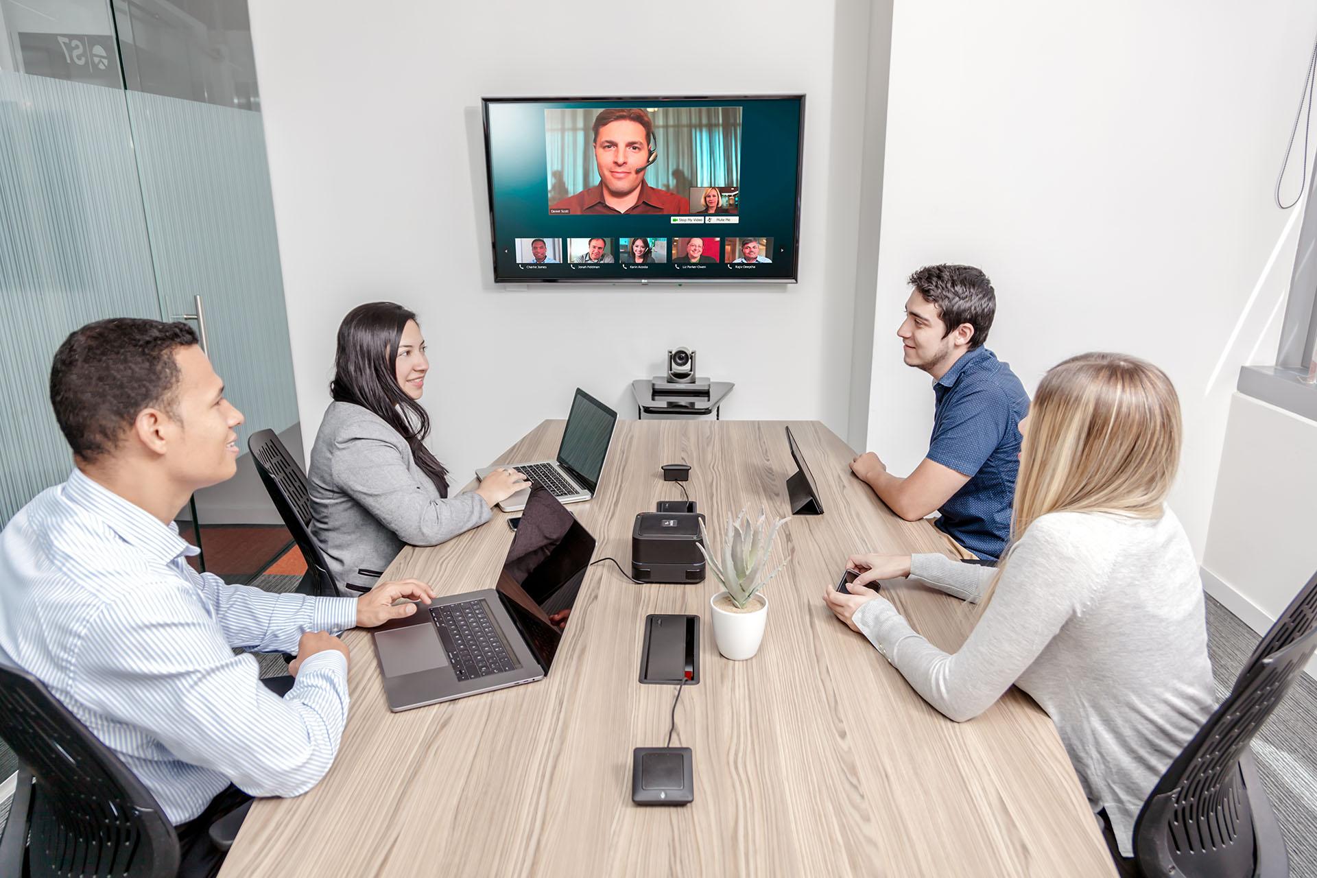 Imagen Sala de videoconferencia - Xegmenta